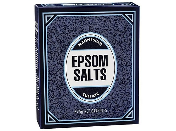 epsom salts magnesium sulfate