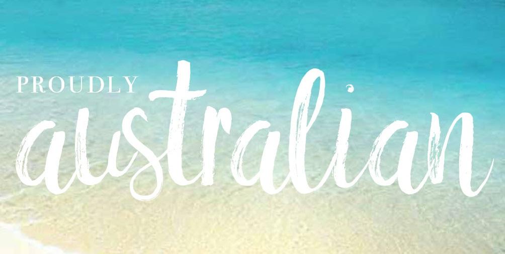 Proudly Australian