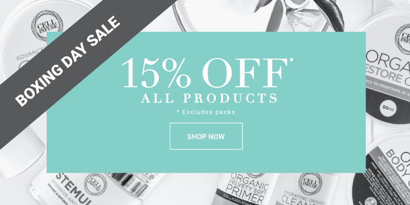 Boxing Day Sale - 15% off