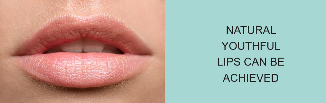 natural youthful lips