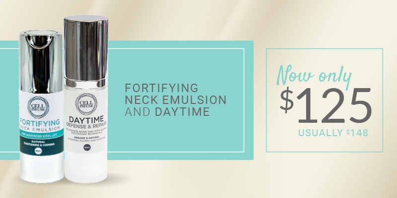 fortifyin neck emulsion and daytime