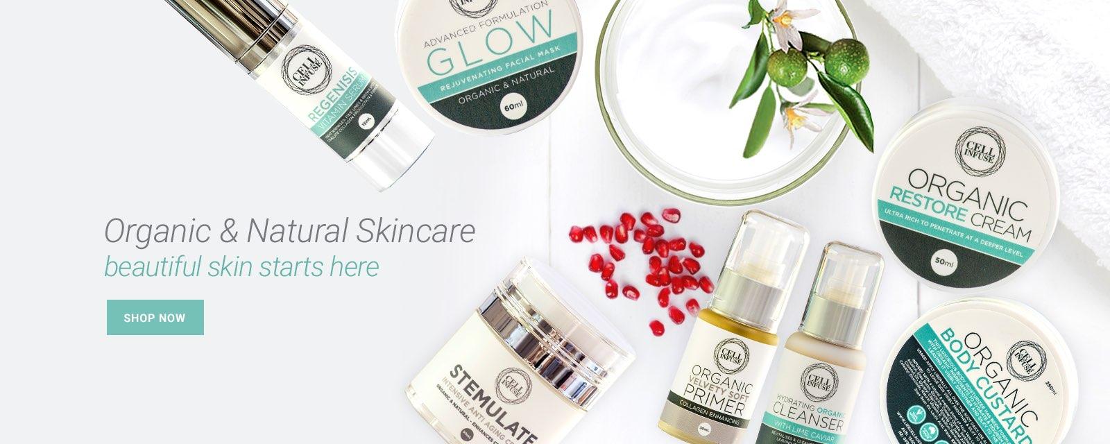 organic natural skincare products Australia
