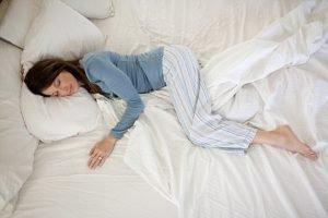 Is your sleeping position causing wrinkles?